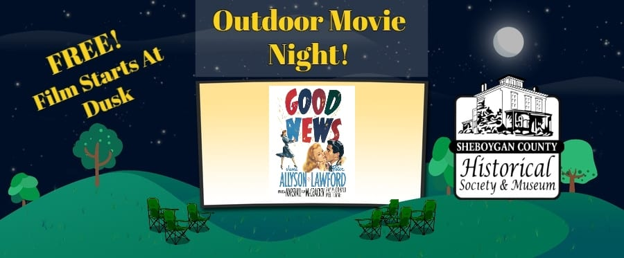 August Outdoor Movie Night – Good News, 1947