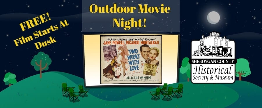 July Outdoor Movie Night – Two Weeks With Love, 1950