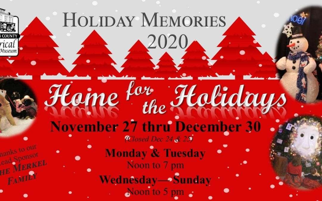Holiday Memories 2020: Home for the Holidays