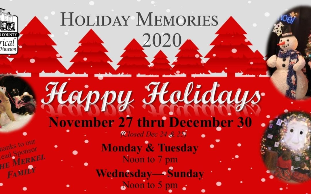 Holiday Memories 2020: Happy Holidays