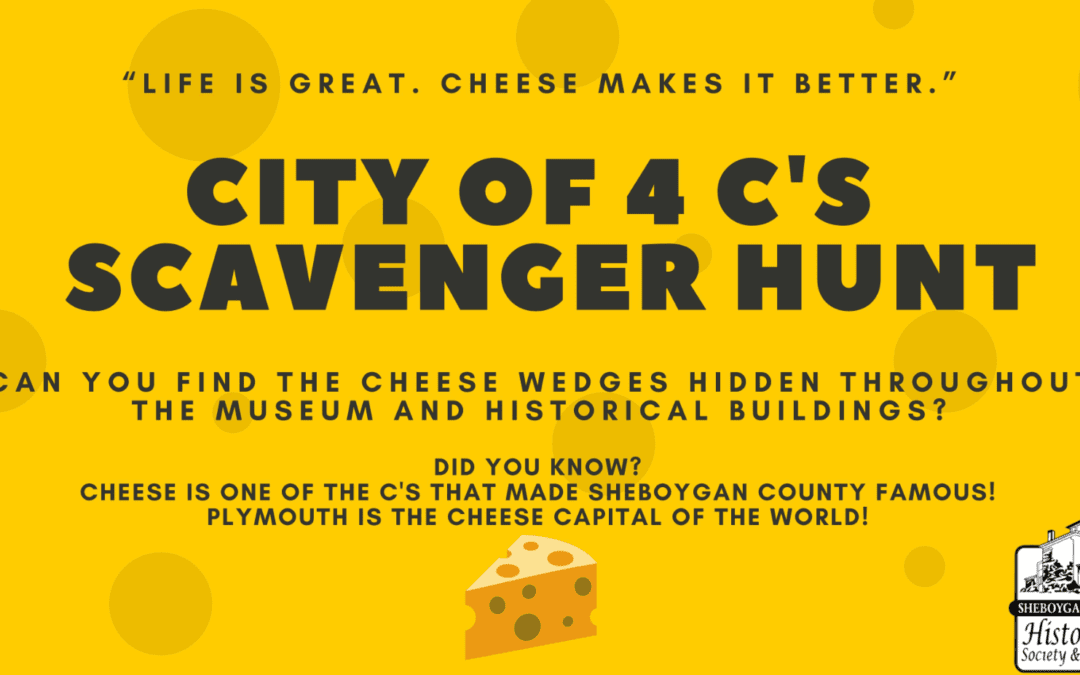 City of 4 C's Scavenger Hunt