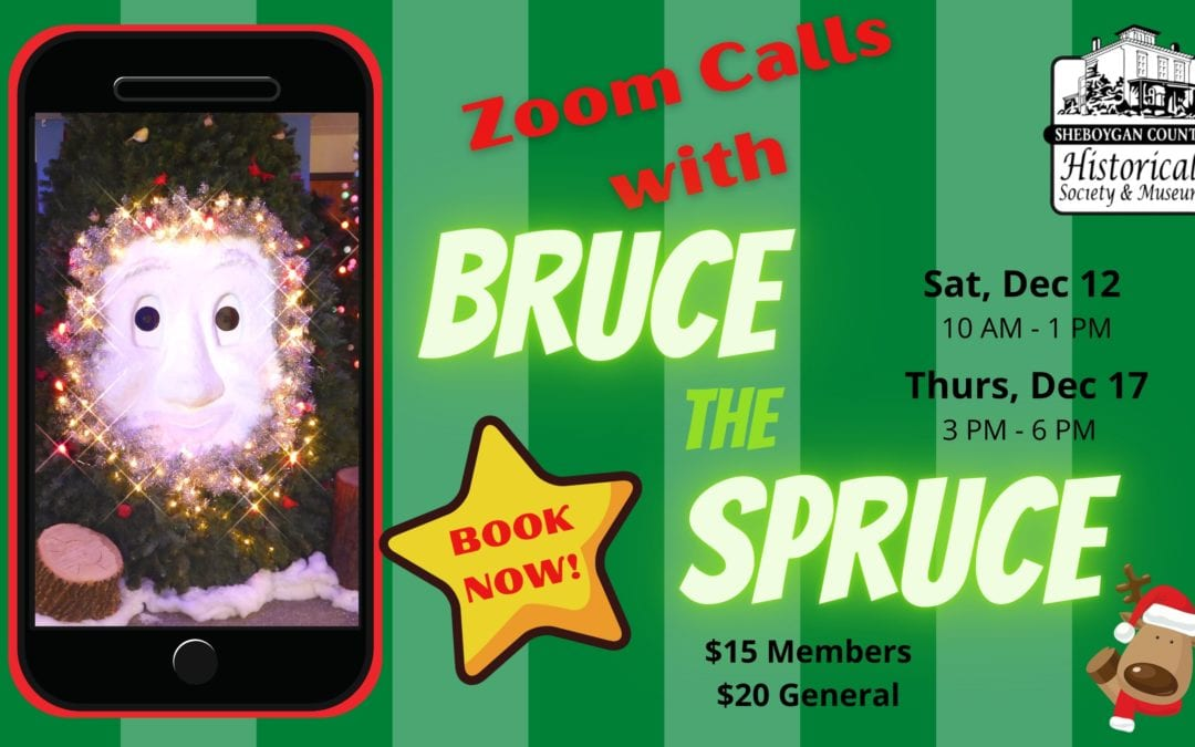 Zoom Calls with Bruce the Spruce