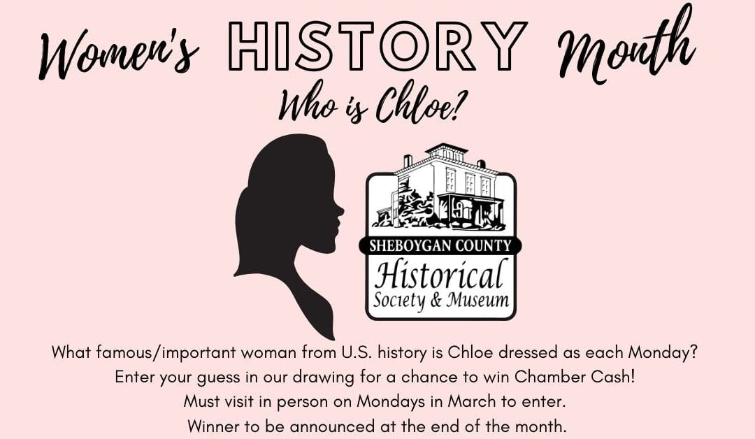 Women's History Month – Who is Chloe?
