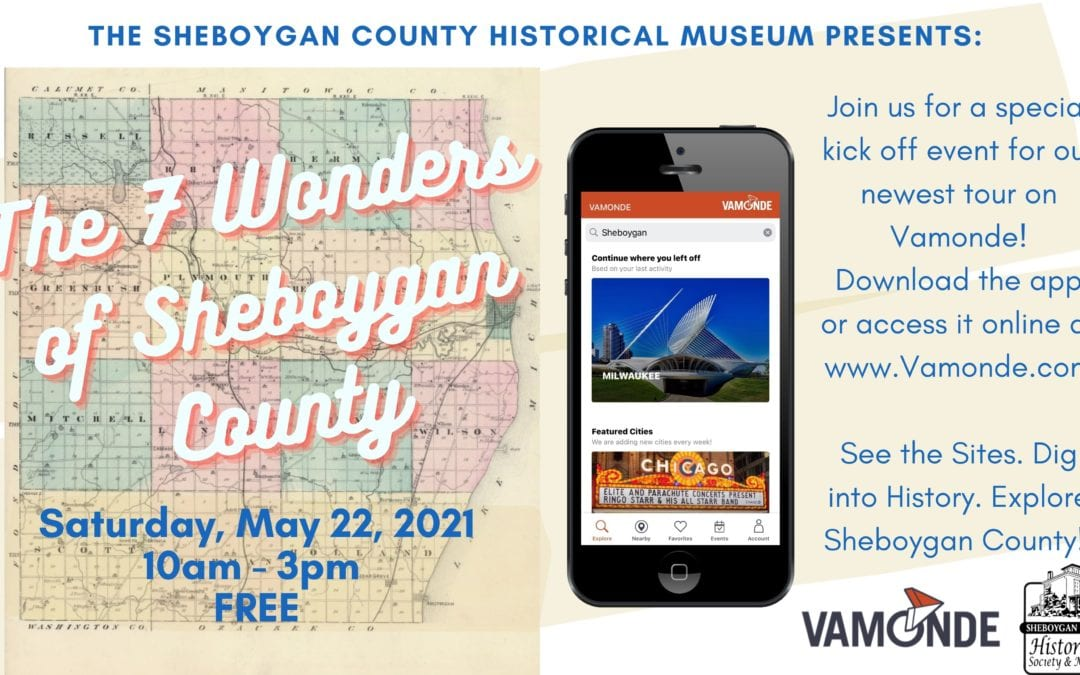The 7 Wonders of Sheboygan County – Vamonde Tour Kick Off